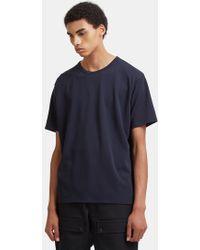 Acne Studios - Niagara Piqué T-shirt In Navy - Lyst