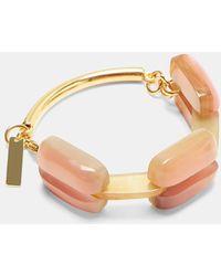 Marni - Resin Bracelet In Pink - Lyst