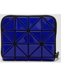 Bao Bao Issey Miyake - Zipped Jam Wallet In Blue - Lyst
