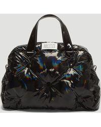 Maison Margiela - Glam Slam Medium Handbag In Black - Lyst