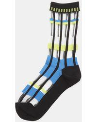 Issey Miyake - Sheer Flow Socks In Black - Lyst