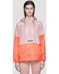 adidas By Stella McCartney - Bi-colour Windbreaker Jacket In Pink - Lyst