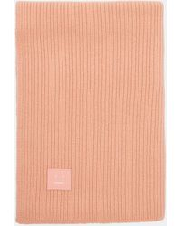 Acne Studios - Bansy Large Face Scarf In Pink - Lyst