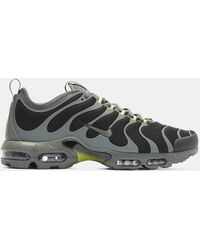 Nike - Air Max Plus Tn Ultra Trainers In Black And Grey - Lyst