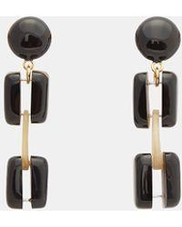 Marni - Resin Clip Earrings In Black - Lyst