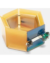 Marni - Resin Bracelet In Yellow - Lyst