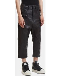 Rick Owens - Keyring Astaire Jeans In Black - Lyst
