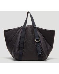 Jil Sander - Oversized Shopper Bag In Navy - Lyst