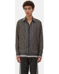 Fendi - Men's Printed Pyjama Shirt In Grey, Yellow And White - Lyst