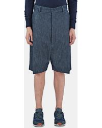 Mohsin - Men's Femi Oversized Denim Board Shorts In Indigo - Lyst