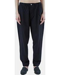 Marvielab - Women's Oversized Straight Leg Trousers In Black - Lyst