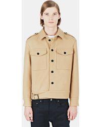 Maxwell Snow | Men's Wool Ike Jacket In Camel | Lyst