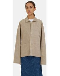 STORY mfg. - Women's Short On Time Jacket In Beige - Lyst