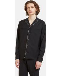 Valentino - Men's Pyjama Shirt In Black - Lyst