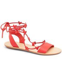 Loeffler Randall - Heartla Ankle Wrap Sandal - Lyst
