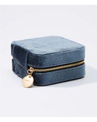 LOFT - Velvet Jewelry Case - Lyst