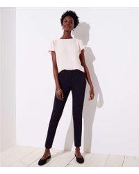 LOFT - Petite Skinny Pants In Marisa Fit - Lyst