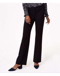 LOFT - Petite Trousers In Custom Stretch In Julie Fit - Lyst