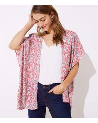 LOFT - Vine Kimono - Lyst