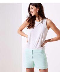 LOFT - Riviera Shorts With 4 Inch Inseam - Lyst
