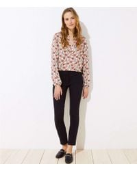 LOFT - Skinny Ankle Trousers In Marisa Fit - Lyst