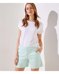 LOFT - Riviera Shorts With 6 Inch Inseam - Lyst