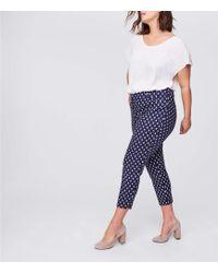 LOFT - Plus Diamond Dot Riviera Trousers - Lyst
