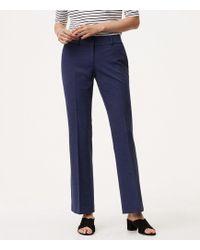 LOFT - Tall Trousers In Custom Stretch In Julie Fit - Lyst