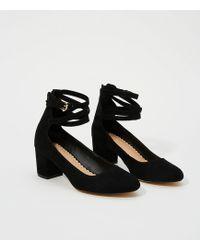 LOFT - Ankle Strap Block Heels - Lyst