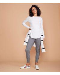 44b9f7345a537 LOFT Lou & Grey Sweatshirt Leggings in Blue - Lyst