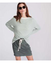 LOFT - Lou & Grey Ribbed Tunic Sweater - Lyst