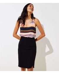 LOFT - Tall Slit Pencil Skirt - Lyst