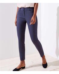 LOFT - Tall Skinny Trousers In Julie Fit - Lyst