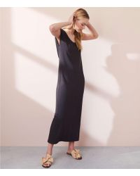 LOFT - Lou & Grey Garment Dye Maxi Tee Dress - Lyst