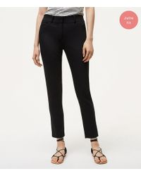 LOFT - Tall Skinny Ankle Pants In Julie Fit - Lyst