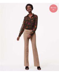 "LOFT - Trousers In Custom Stretch In Marisa Fit With 31"" Inseam - Lyst"