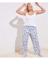 LOFT - Plus Penguin Pajama Pants - Lyst