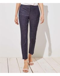 LOFT - Slim Custom Stretch Pants In Julie Fit - Lyst