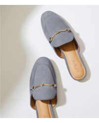 LOFT - Loafer Slides - Lyst