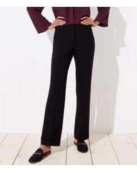 LOFT - Trousers In Doubleweave In Julie Fit - Lyst