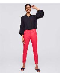 LOFT - Tall Skinny Slit Ankle Pants In Marisa Fit - Lyst