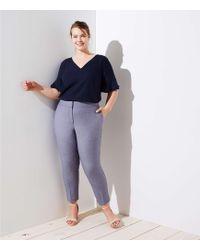 LOFT - Plus Slim Custom Stretch Pencil Pants - Lyst