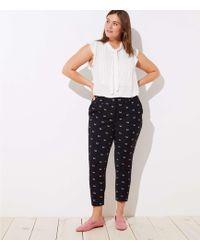 LOFT - Plus Slim Dachshund Pencil Pants In Marisa Fit - Lyst