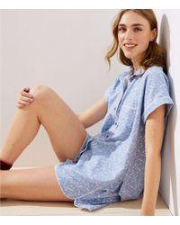 LOFT - Heart Pyjama Set - Lyst