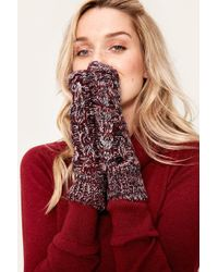 Lolë - Cable Mittens - Lyst