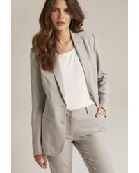 Long Tall Sally - Tall Grey Tailored Suit Jacket - Lyst