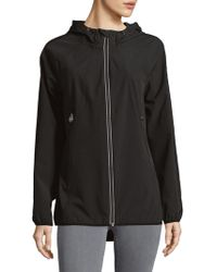 MICHAEL Michael Kors - Zip Hooded Jacket - Lyst
