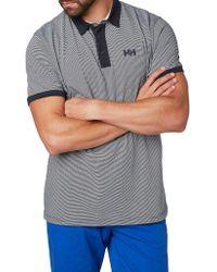 Helly Hansen - Sport Leisure Fjord Regular-fit Cotton-blend Polo - Lyst