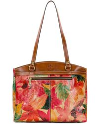 Patricia Nash - Spring Collection Poppy Colorblock Satchel - Lyst
