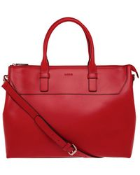 Lodis - Audrey Wilhelmina Leather Work Satchel - Lyst
